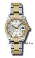 Rolex SS 18K Yellow Gold Model 178313SJDO