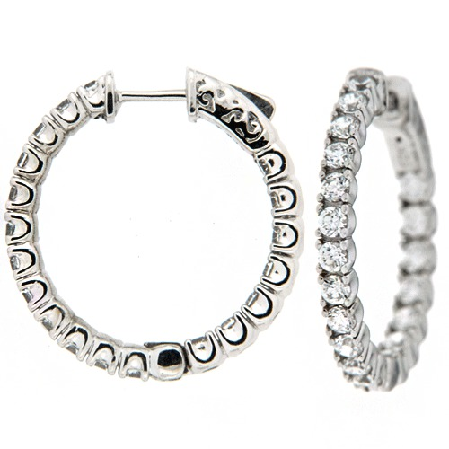 diamond earrings model - photo #21