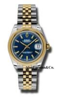 Rolex SS 18K Yellow Gold Model 178243BLIJ