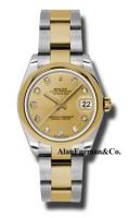 Rolex SS 18K Yellow Gold Model 178243CHDO