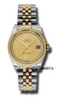 Rolex SS 18K Yellow Gold Model 178243CHFJ