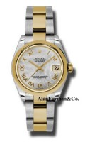 Rolex SS 18K Yellow Gold Model 178243MRO