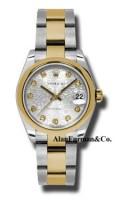Rolex SS 18K Yellow Gold Model 178243SJDO