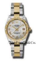 Rolex SS 18K Yellow Gold Model 178343MRO