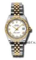 Rolex SS 18K Yellow Gold Model 178343WRJ