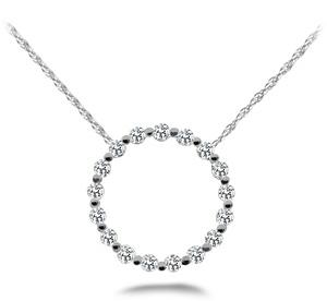 Diamond Circle Necklace Model SP30