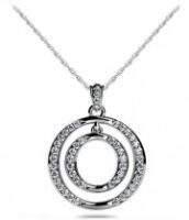 Diamond Circle Necklace Model SP41-A