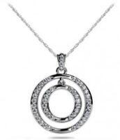 Diamond Circle Necklace Model SP41-A