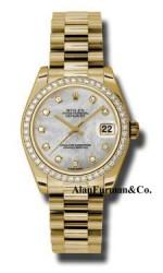 Rolex 18K Yellow Gold Model 178288MDP