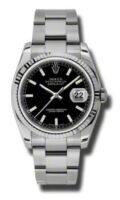 Rolex Steel Model 116234BKSO