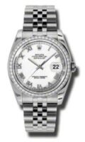 Rolex Steel Model 116244WRJ