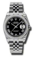 Rolex Steel Model 116244BKRJ