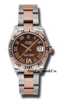 Rolex SS 18K Rose Gold Model 178271CHODRO