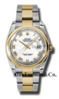 Rolex SS 18K Yellow Gold Model 116203WRO