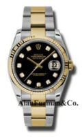 Rolex SS 18K Yellow Gold Model 116233BKDO