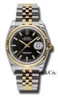 Rolex SS 18K Yellow Gold Model 116233BKSJ