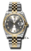 Rolex SS 18K Yellow Gold Model 116233GDJ