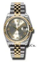 Rolex SS 18K Yellow Gold Model 116233GRJ