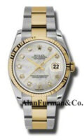 Rolex SS 18K Yellow Gold Model 116233MDO