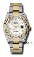 Rolex SS 18K Yellow Gold Model 116233MRO