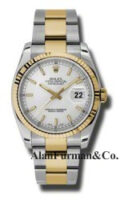 Rolex SS 18K Yellow Gold Model 116233SSO