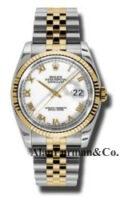 Rolex SS 18K Yellow Gold Model 116233WRJ