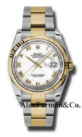 Rolex SS 18K Yellow Gold Model 116233WRO