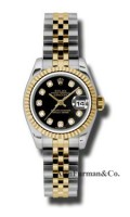 Rolex SS 18K Yellow Gold Model 179173BKDJ