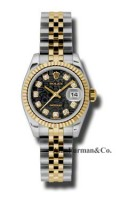 Rolex SS 18K Yellow Gold Model 179173BKJDJ