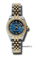 Rolex SS 18K Yellow Gold Model 179173BLCAJ
