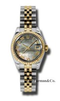 Rolex SS 18K Yellow Gold Model 179173DKMRJ