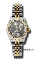 Rolex SS 18K Yellow Gold Model 179173GRJ