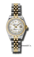 Rolex SS 18K Yellow Gold Model 179173MDJ