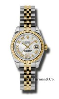 Rolex SS 18K Yellow Gold Model 179173MDRJ