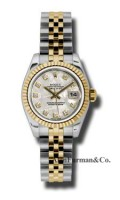 Rolex SS 18K Yellow Gold Model 179173MTDJ