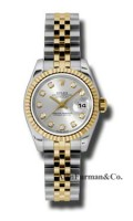 Rolex SS 18K Yellow Gold Model 179173SDJ