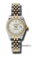 Rolex SS 18K Yellow Gold Model 179173SSJ