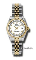 Rolex SS 18K Yellow Gold Model 179173WRJ
