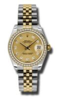 Call us at (800) 654-7184 for pricing and availability on Rolex SS 18K Yellow Gold Model 179383CHDJ