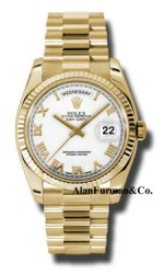 Rolex 18K Yellow Gold Model 118238WRP