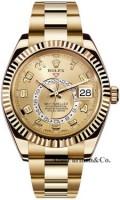 Rolex 18K Yellow Gold Model 326938