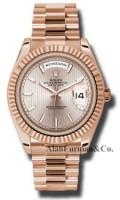 Rolex 18K Rose Gold Model 228235SDSMIP1