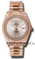 Rolex 18K Rose Gold Model 228235SDSMIP