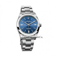 Rolex Stainless Steel 39mm Model 114300BLSO