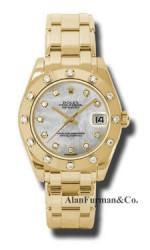 Rolex 18K Yellow Gold Model 81318MD