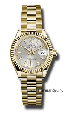 Rolex 18K Yellow Gold Model 279178 SIP