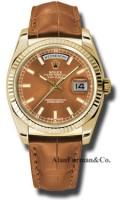 Rolex 18K Yellow Gold Model 118138COL