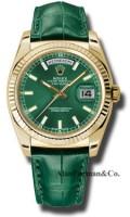Rolex 18K Yellow Gold Model 118138GRL