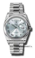 Rolex Platinum Model 118206GLARP