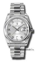 Rolex Platinum Model 118206SDP